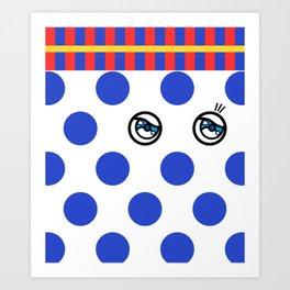POLKA DOTS FANTASY 3 Art Print