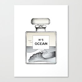 Ocean No5 Canvas Print