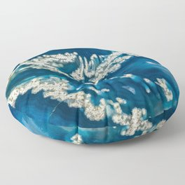 Blue Ice Agate 3035 Floor Pillow