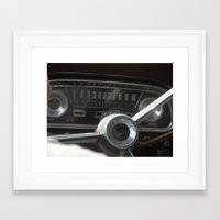 ford Framed Art Prints featuring ford by elan shick