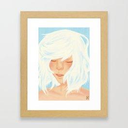 Shiro Framed Art Print