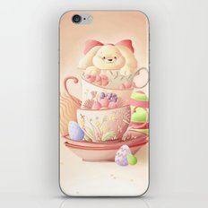 Teacup Bunny iPhone & iPod Skin