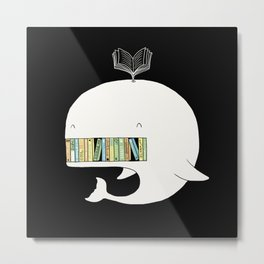 My Book Shelf Metal Print