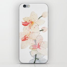 Watercolor Orchid iPhone Skin