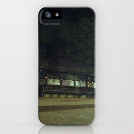 Koyasan temple 1 iPhone Case