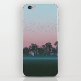 Shadow Of The Earth iPhone Skin