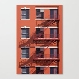 Just Another New York Storey Canvas Print