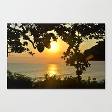 Serenity in Bali Canvas Print