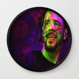 J Cole Hip Hop Wall Clock