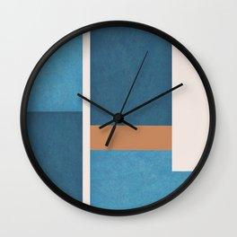 Intercepts, Geometric Forms Shapes Wall Clock