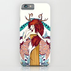 Lady of Fall Slim Case iPhone 6s