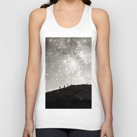 starry night Tank Tops featuring Starry Night  by Laura Ruth