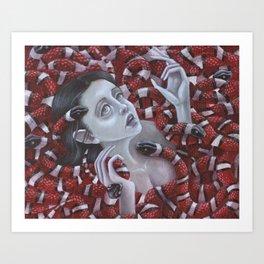 Serpentine Dreams- Print Version Art Print