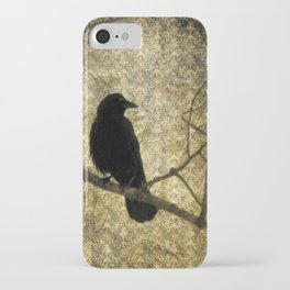 Crow Of Damask iPhone Case