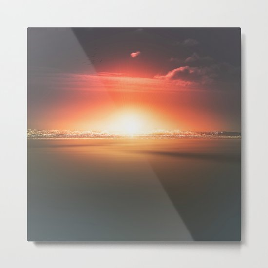 When the day breaks Metal Print