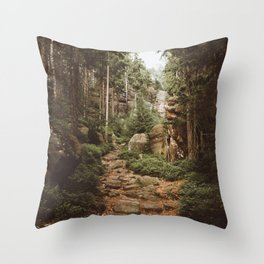 Table Mountains - Landscape and Nature Photography Throw Pillow