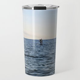 Baltic Sea - Warnemuende Beach  Travel Mug