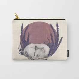 Fox & Lavender Carry-All Pouch