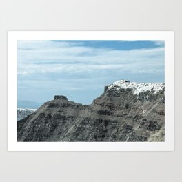 Santorini, Greece 16 Art Print