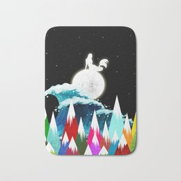 Lovly Moon Bath Mat