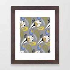 Breakfast Paisley Framed Art Print