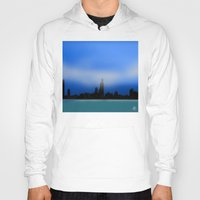 chicago Hoodies featuring Chicago by dBranes