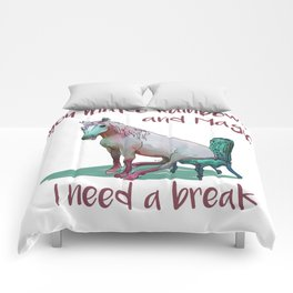Unicorn Break Comforters