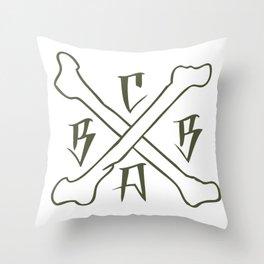 bbca Throw Pillow