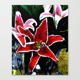 Tiger Lily jGibney The MUSEUM Society6 Gifts Canvas Print