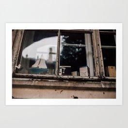 Window Scene Art Print