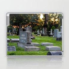 Graveyard Sunset Laptop & iPad Skin