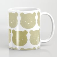 teddy bear Mugs featuring Teddy by ColourMoiChic