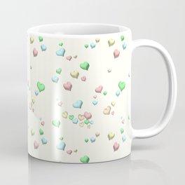 Pastel Candy Hearts Coffee Mug