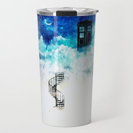 Beyond the clouds | Doctor Who Travel Mug