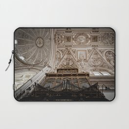 Organ and Ceiling (Cordoba Cathedral) Laptop Sleeve