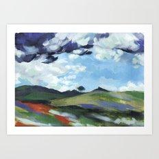 Iowa Summer Storm Art Print