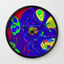 Mahakala I Wall Clock