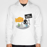 yellow submarine Hoodies featuring Yellow Submarine by Ewan Arnolda