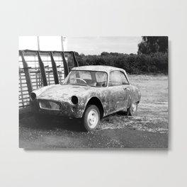 In Retirement - iPhoneography Metal Print