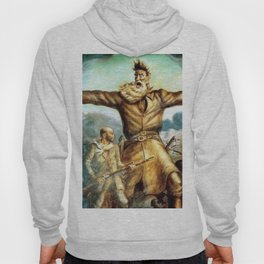John Brown & Abolition's Destruction of Slavery and the Putrid Confederacy by John Steuart Curry Hoody