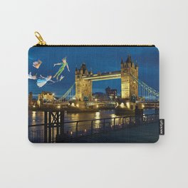 Peter Pan and the London Bridge Carry-All Pouch