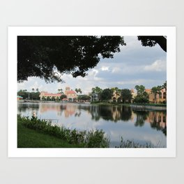 Coronado Springs Resort Art Print