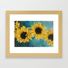 Small Sunnies Framed Art Print