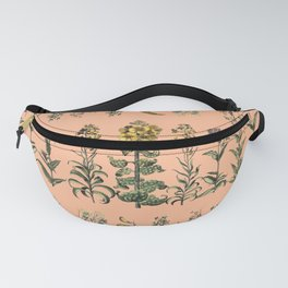 flowers in line Fanny Pack