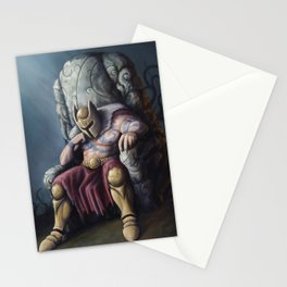 The lost King Stationery Cards