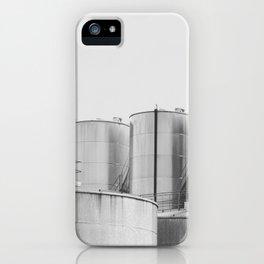 Industrial architecture, urban photography, still life, interior design, interior decoration, city iPhone Case