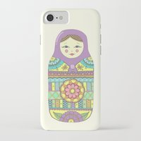 russian iPhone & iPod Cases featuring Russian Doll by haleyivers