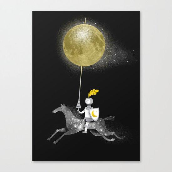 Night Rider Canvas Print