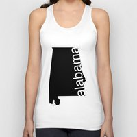 alabama Tank Tops featuring Alabama by Isabel Moreno-Garcia