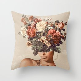 Flower-ism II Throw Pillow